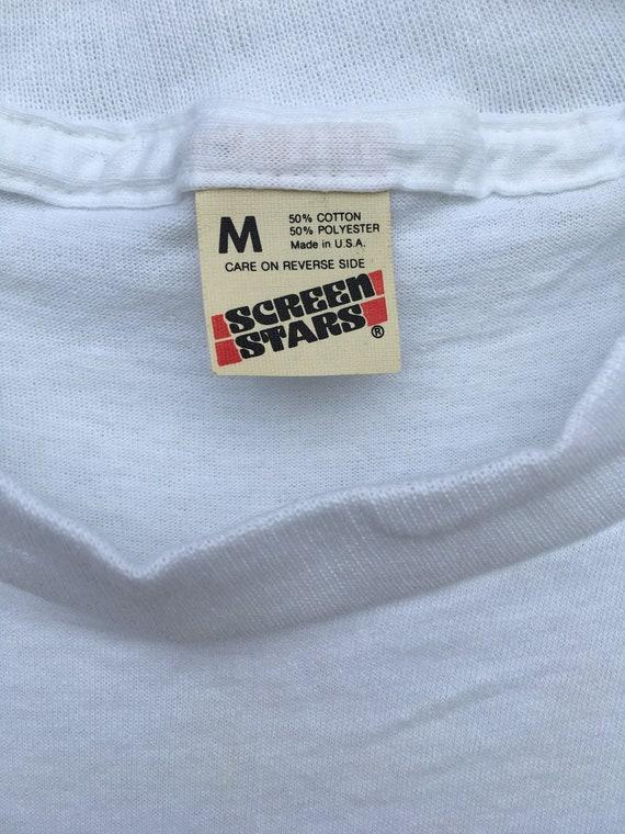 Original Original Original Vintage 1986 Star Trek Fan Club officiel «Vingt ans» chemise d'anniversaire 815164
