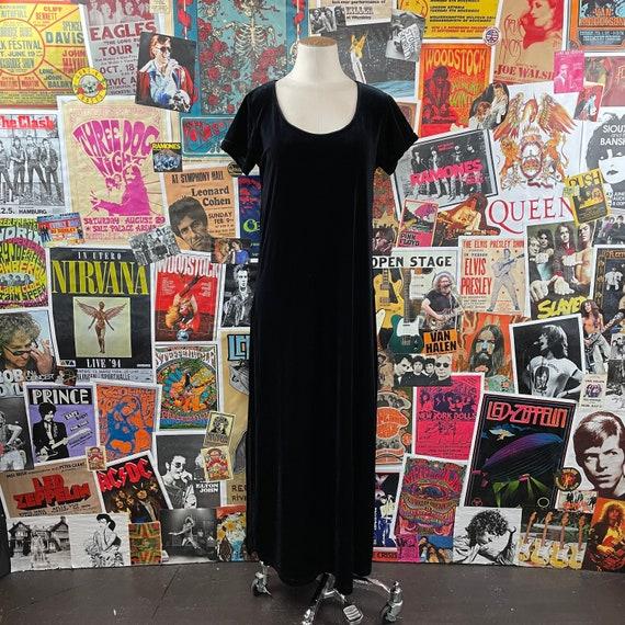 Vintage Women's 1980s-90s Short Cap Sleeve Scoop … - image 1
