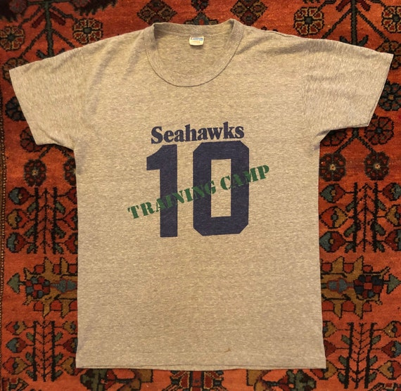 Soft Vintage 1970s Seattle Seahawks Training Camp
