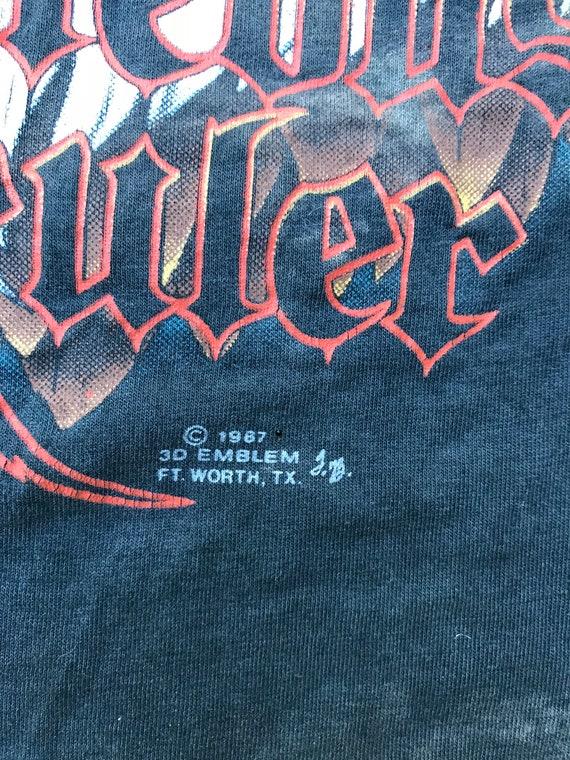 Réservoir de «Justes souverain» emblème 3D 1987 Vintage 1987 3D Harley 47ccc2