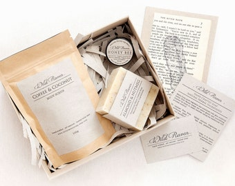 Deluxe Gift Set //  All Natural Body Care Range // Palm Oil Free // Recycled Packaging // Gift for Mum, Mom, Her, Woman