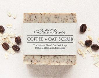 Coffee + Oat Scrub Soap Bar