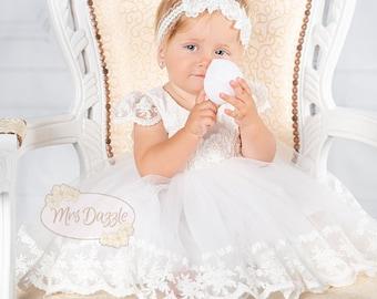 Baptism Dress,baptism girl dress,Christening Dress,Baptism Lace Dress,Baptism Gown,Christening Gown,Blessing Dress,Girls Lace Dress