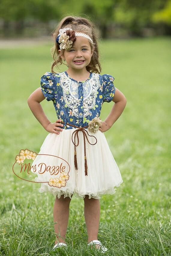 Western Flower Girl Dresses