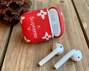 Supreme X Louis Vuitton Airpod Skins | Human Resources Newark