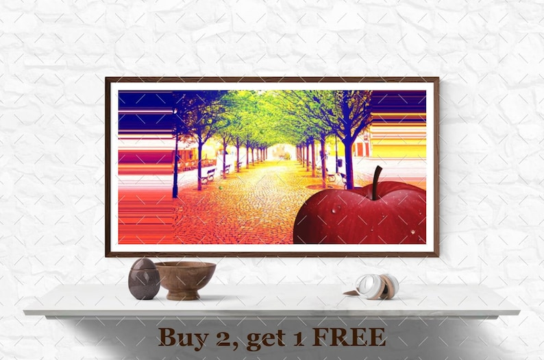PRG39   Modern Wall Art  Instant Download image 0