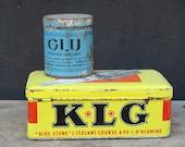 """Tin """"KLG"""" Yello..."""