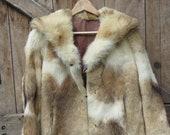 French Vintage Fur Waist ...