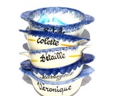 French Lot 5 Hand Painted...