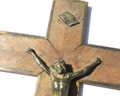Old Large French Crucifix...