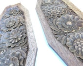 2 French Wooden Panels wi...