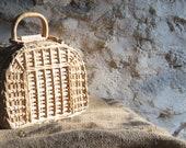 Wicker Basket Small Straw...
