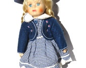 Bisque Doll French Countr...