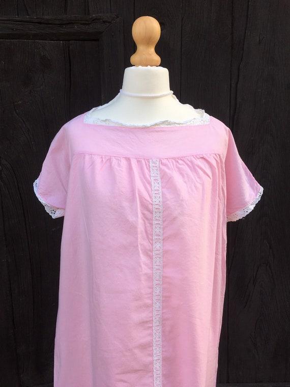 Vintage Nightgown Pink Women's Nightwear