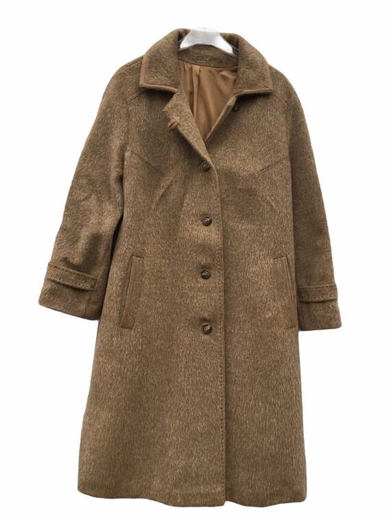 70s WOOL COAT Retro Winter Women's Fashion Vintage