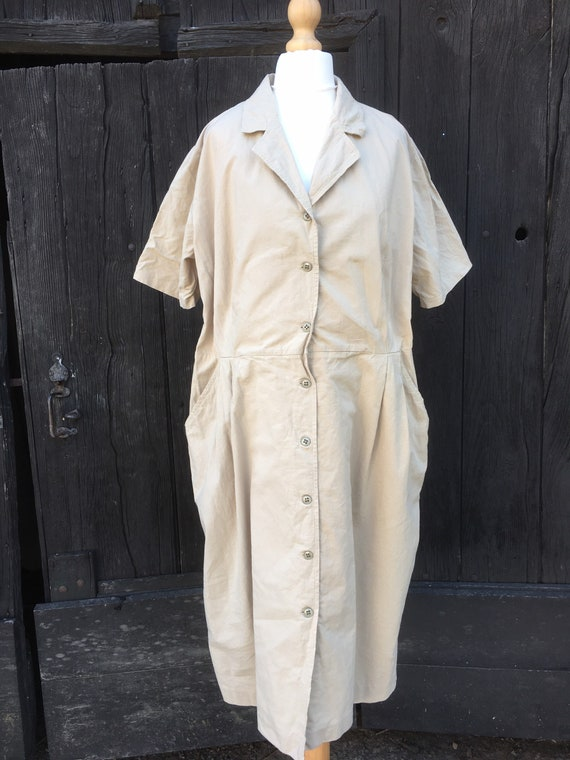 Vintage Workwear Dress