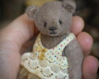 Dasha artist teddy besr OOAK dressed bear
