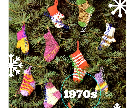 1970'S Christmas Stocking Crochet Pattern Awesome Ideas