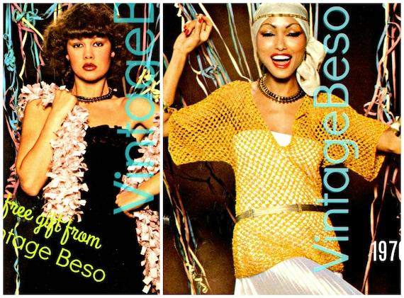 DIGITAL PATTERN • TOP Crochet Pattern • 1970s Vintage • Crochet Tunic Pattern • Crochet Sweater • Crochet Blouse • PdF Pattern • free gift