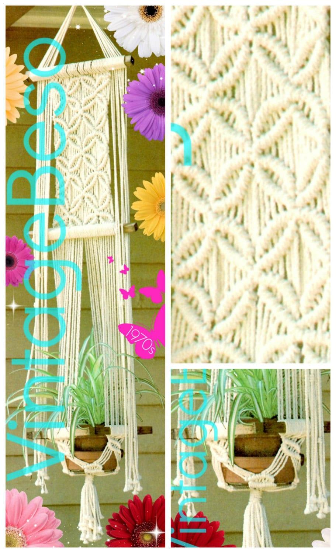Plant Hanger Macrame Pattern INSTANT DOWNlOAD PdF Pattern | Etsy