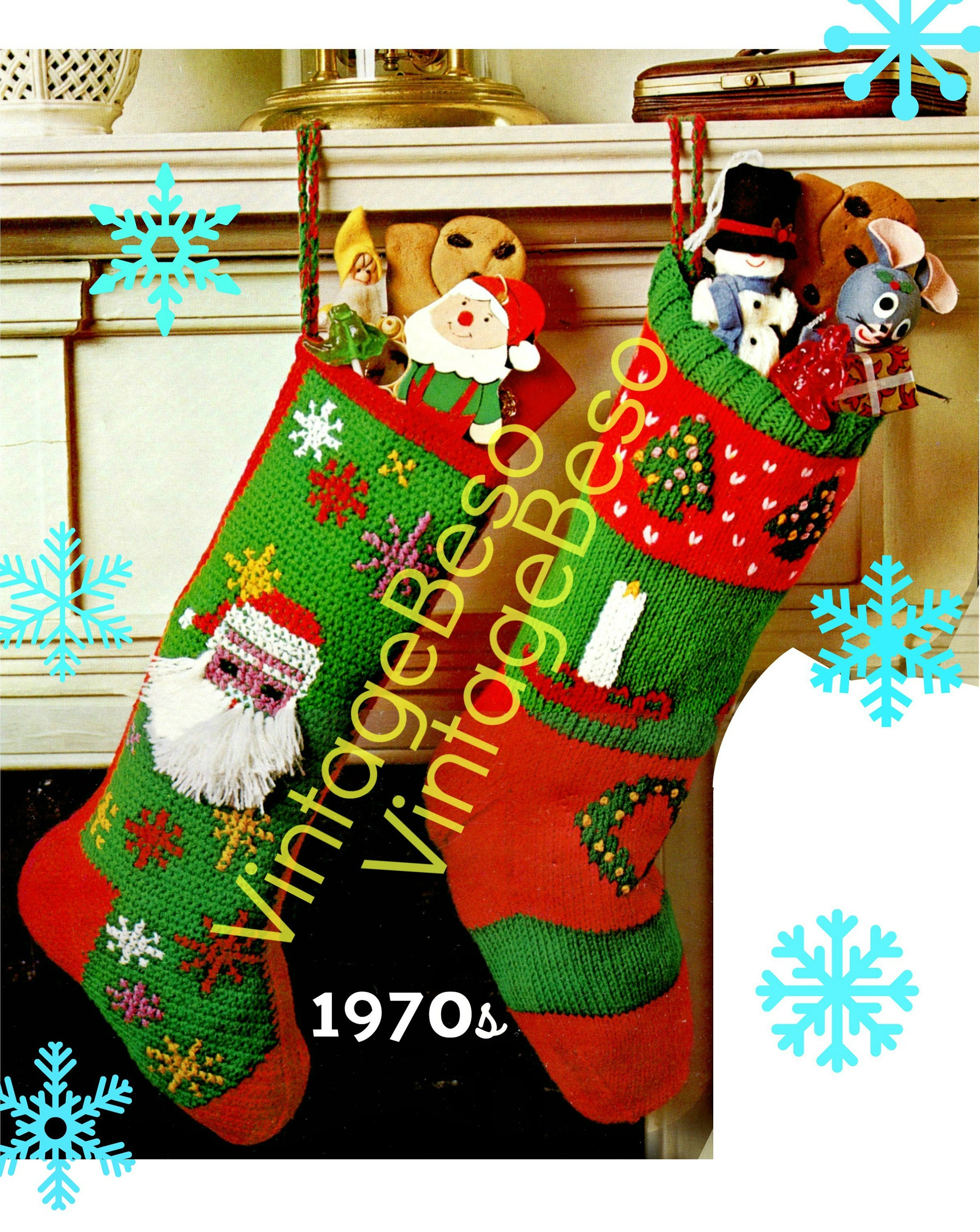 1970'S Christmas Stocking Crochet Pattern Cool Inspiration