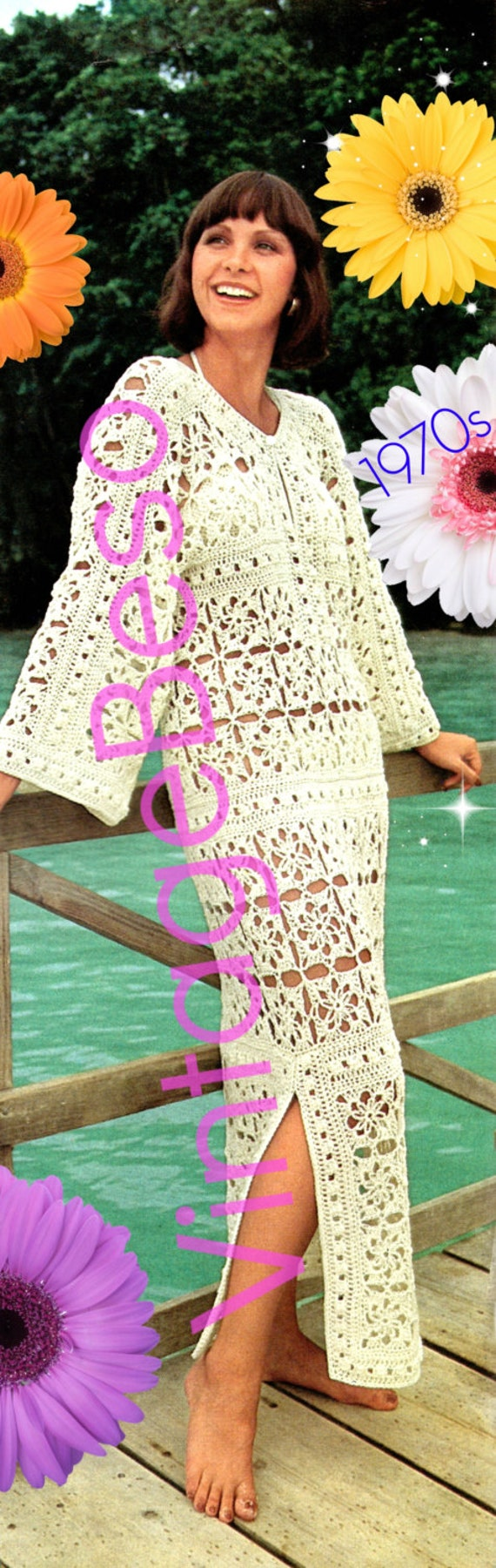 Crochet Swimsuit Cover Up Pattern Simple Design