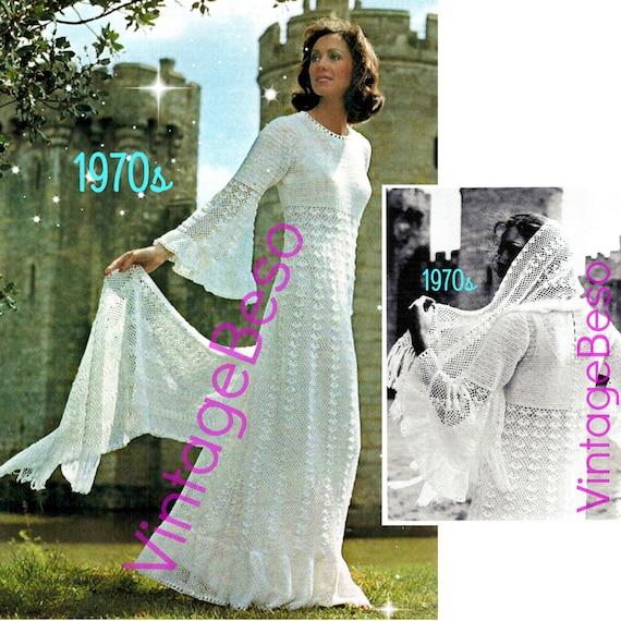 2 Fairy Tale Angel Wing Juliet Style Wedding Dress Crochet Etsy
