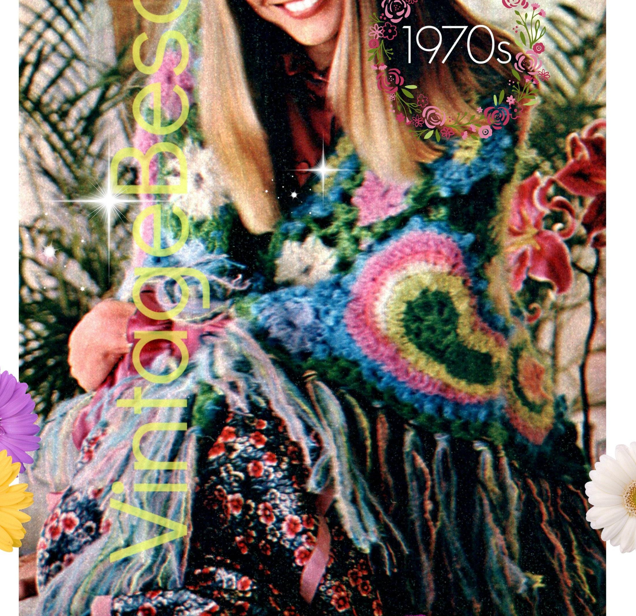 Free Form Paisley Shawl Crochet Pattern Instant