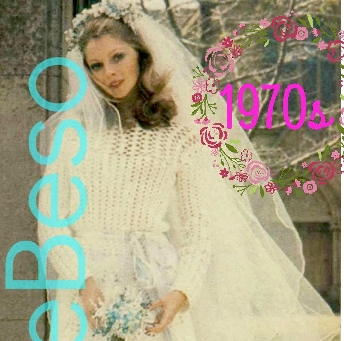 DIY Crochet Wedding Dress
