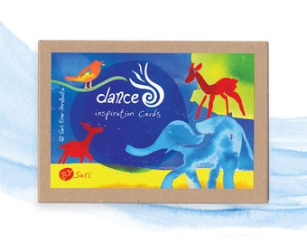 Sari's Dance Cards – a family game for people who love art and dance