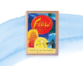 Flow Storytelling Cards - a family game for art lovers