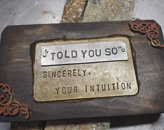 Intuition miniature wall hanging