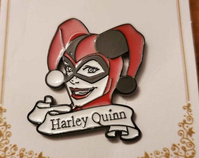 Harley Quinn enamel pin