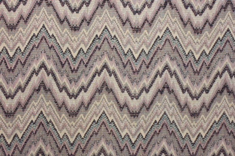 Fabric Drapery Home decor, Bedding pillows Flame Stitch upholstery chenille fabric For Upholstery