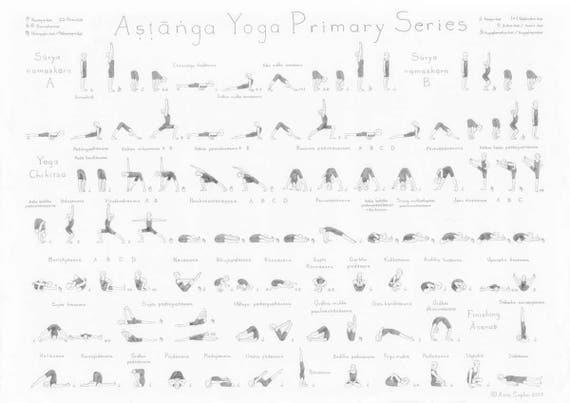 Ashtanga Yoga Primary Series Asana Sequence Drsti