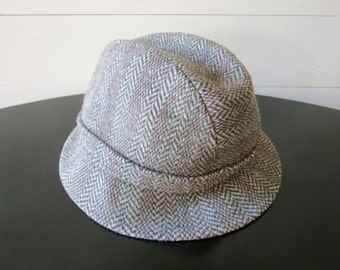 Vintage Tweed Hat - Made in England ec0e534a322d