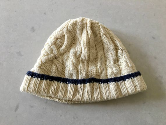 Hand Knit BEANIE HAT - Adult, Cable Knit, Skull Ca