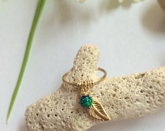 Opal Conch Piercing, Conch Opal Earring, Conch Jewelry, Opal Conch Ring, Conch Hoop, Conch, Conch Piercing Jewelry, Conch Pierced Earring