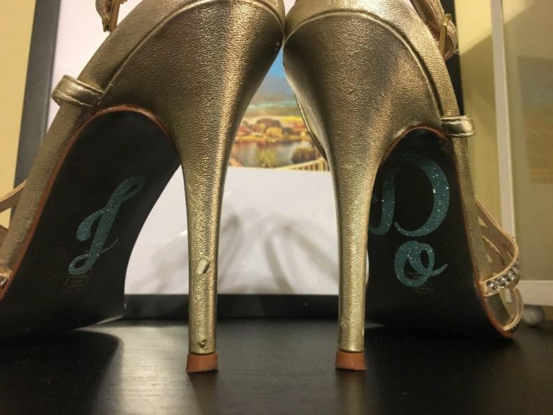 I Do Shoe Decals