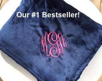 fd15615011 Softest Blanket Ever - Personalized Throw – Monogrammed Blanket -  Monogrammed Fleece Throw - Housewarming Gift - Etsy Bestseller 2018