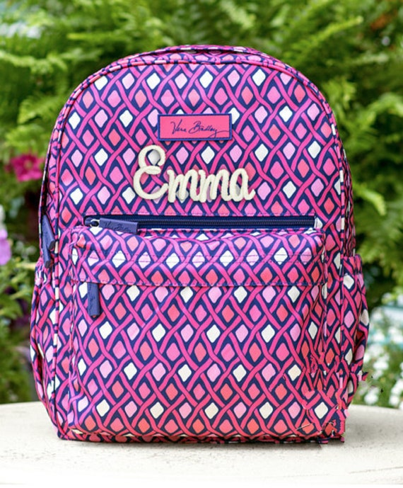 Girls Backpack Vera Bradley Backpack Back To School  ff26c857bbb7c