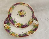 PARAGON SPRING MELODY Pattern - Double Warranted Cup, 1940 39 s