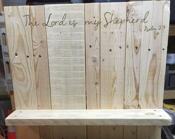 Reclaimed Wood Shelf / Organizer / Storage