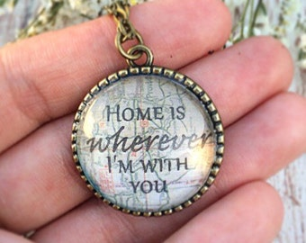 Home Cabochon Necklace