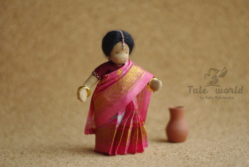 Inspirational Gift For Women On Mothers Day Indian Woman Doll