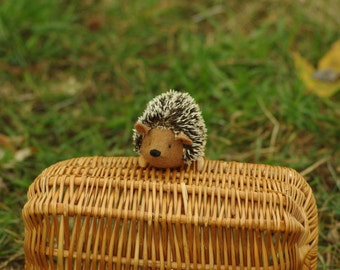 Hedgehog waldorf animal soft hedgehog toy unique hedgehog Eco friendly soft toys Waldorf animal toy felted hedgehog animal for a baby