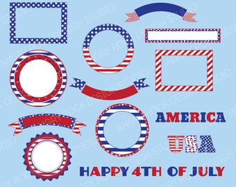 4th of July Banners & Frames