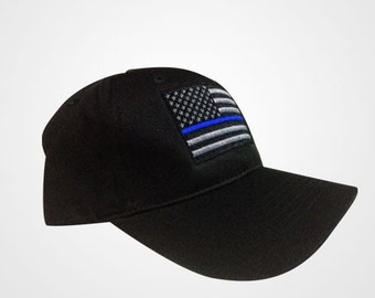 Thin Blue Line NY Flag police hat NOW flexfit option available 1d88a696e896