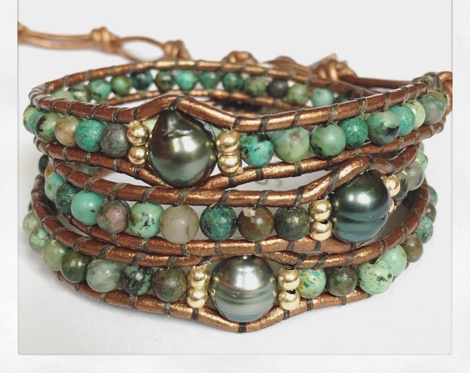 AFRICAN TURQUOISE LUXE Bracelet