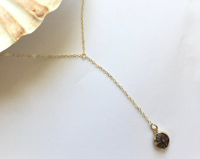 Opihi Lariat Necklace